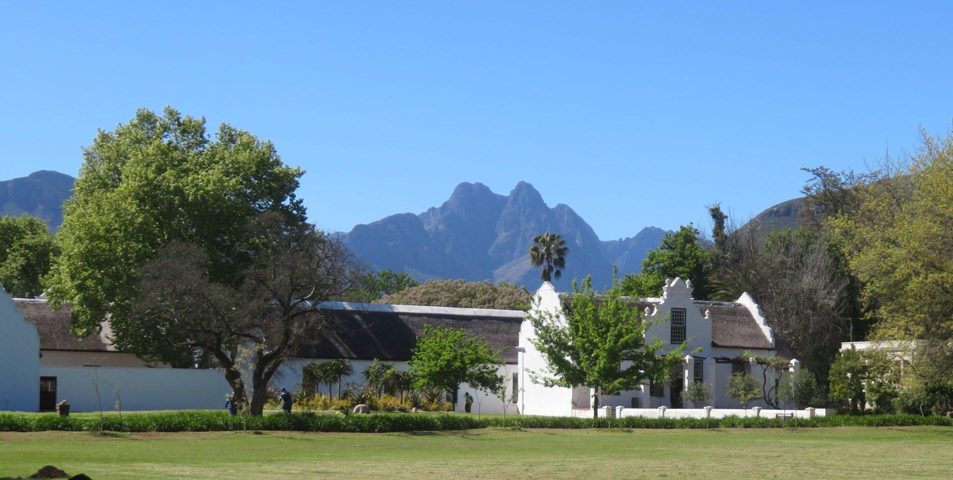 Town of Stellenbosch, South Africa