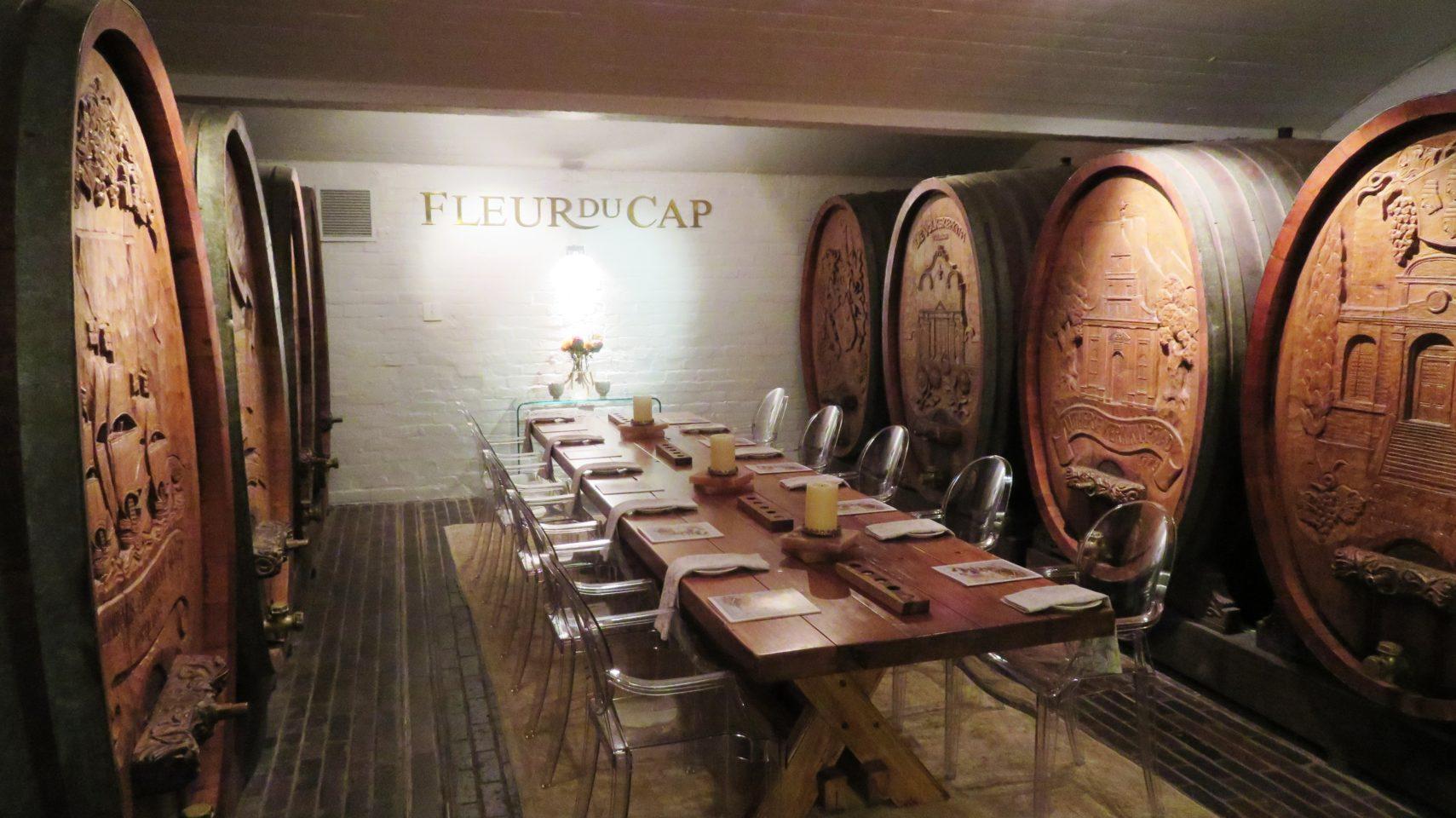 Die Bergkelder, home of Fleur du Cap wines, in Stellenbosch, South Africa