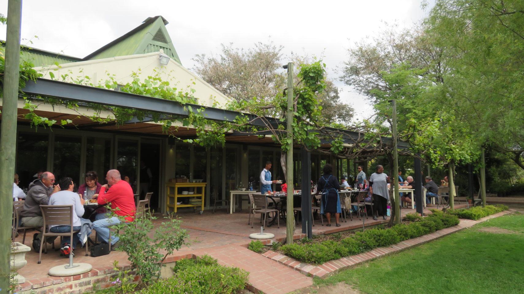 Joostenberg Bistro in Stellenbosch, South Africa