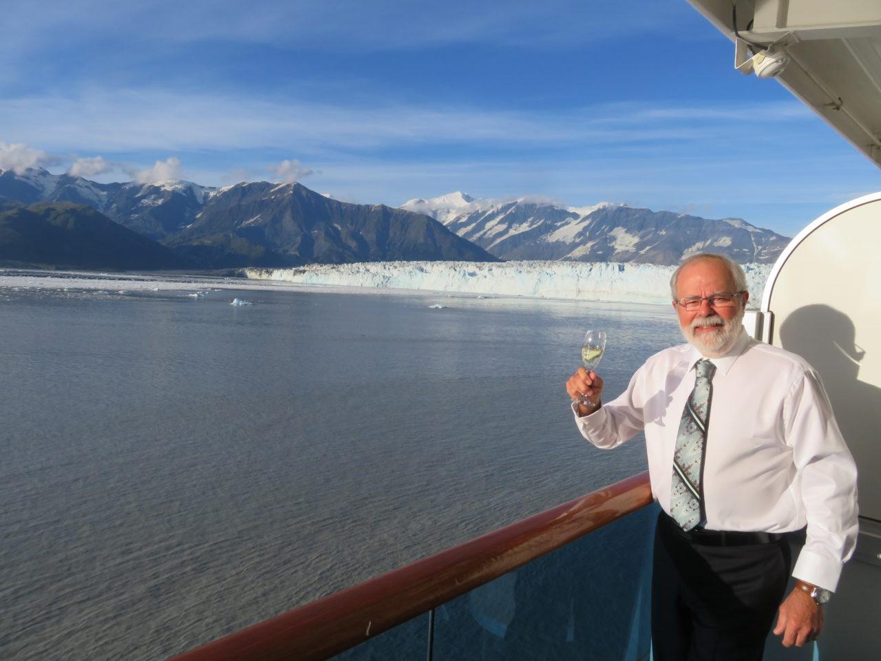 Louis-Simon at Hubbard Glacier