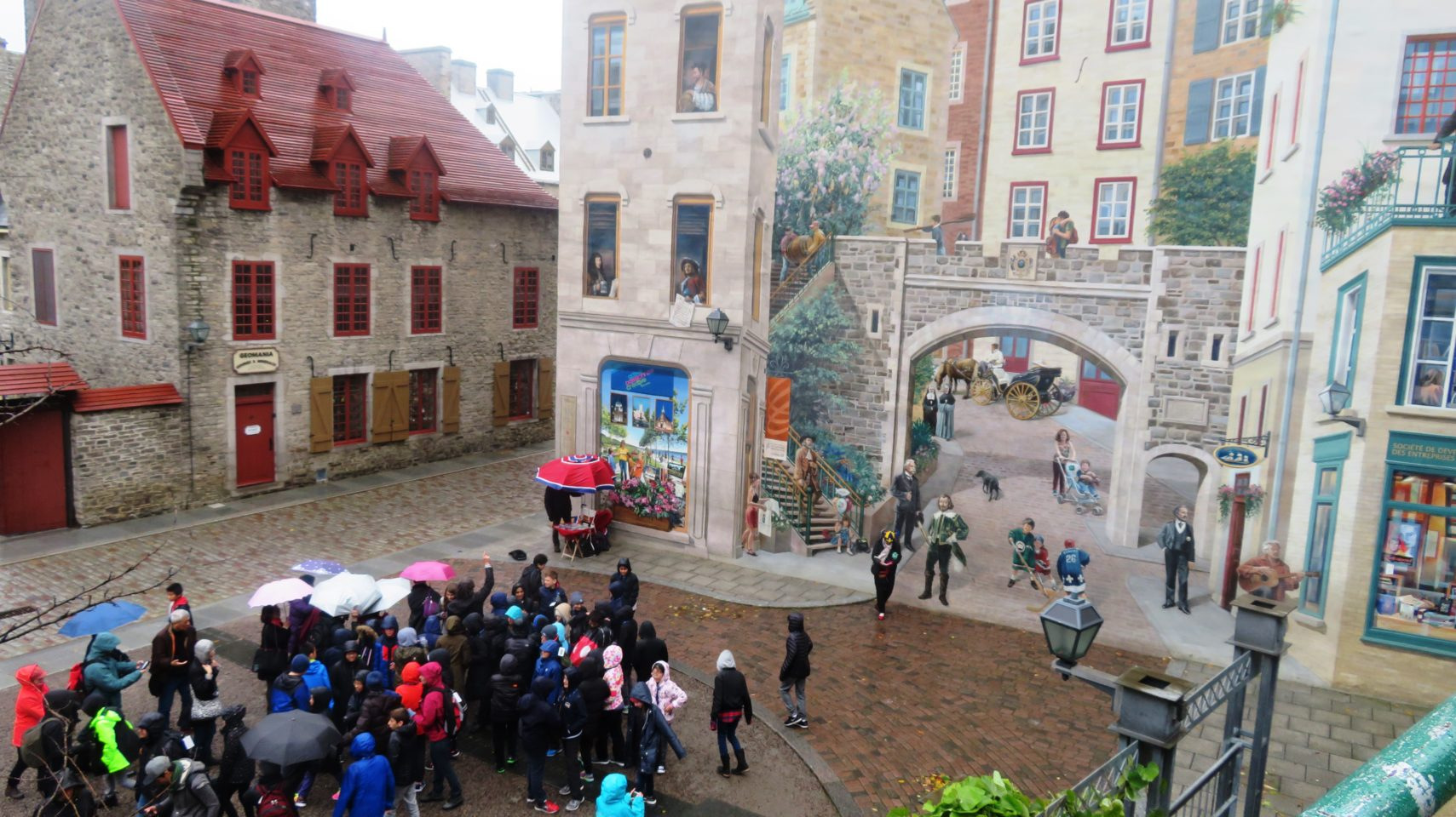The charming old city of Quebec