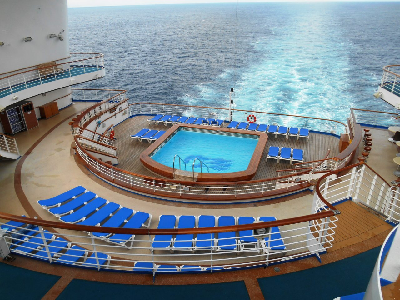 Aboard the Star Princess cruise ship during our Alaska Cruise with Princess Cruises
