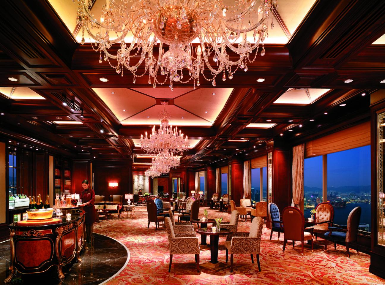 Horizon Club of Island Shangri La Hotel in Hong Kong