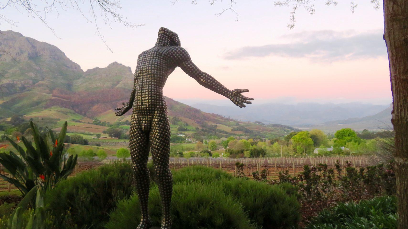 Delaire Graff wineyard in Stellenbosch, South Africa