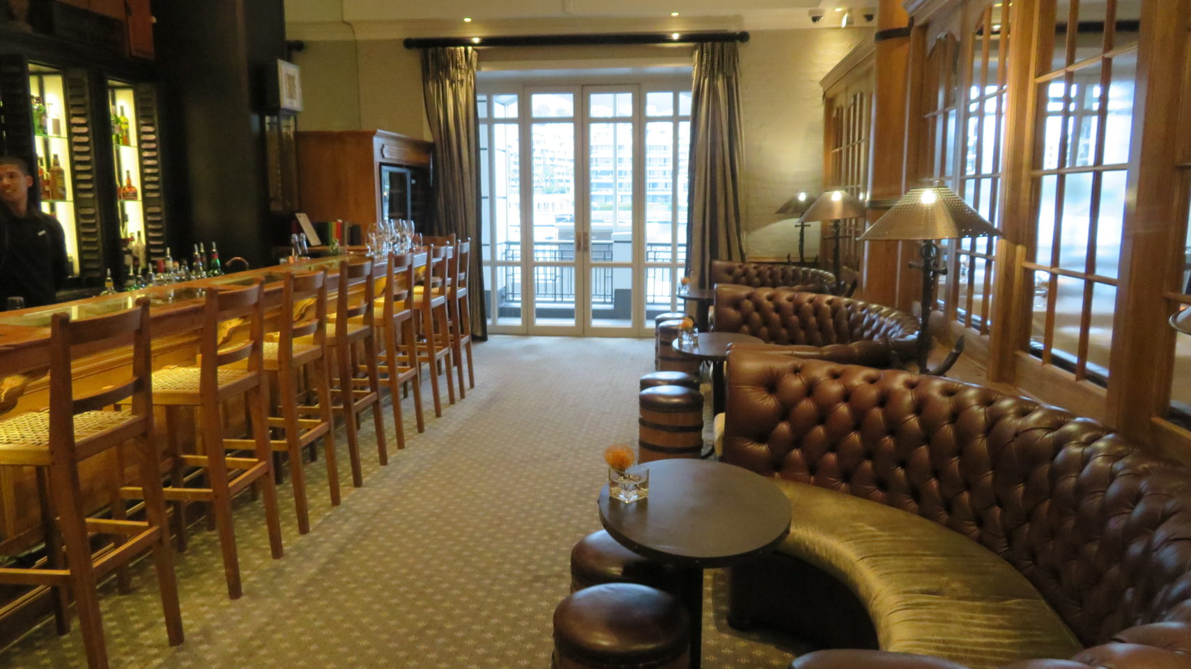 Bar of Signal Restaurant at the Cape Grace Hotel