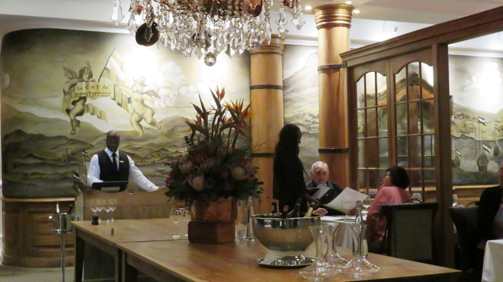 Signal Restaurant at the Cape Grace Hotel