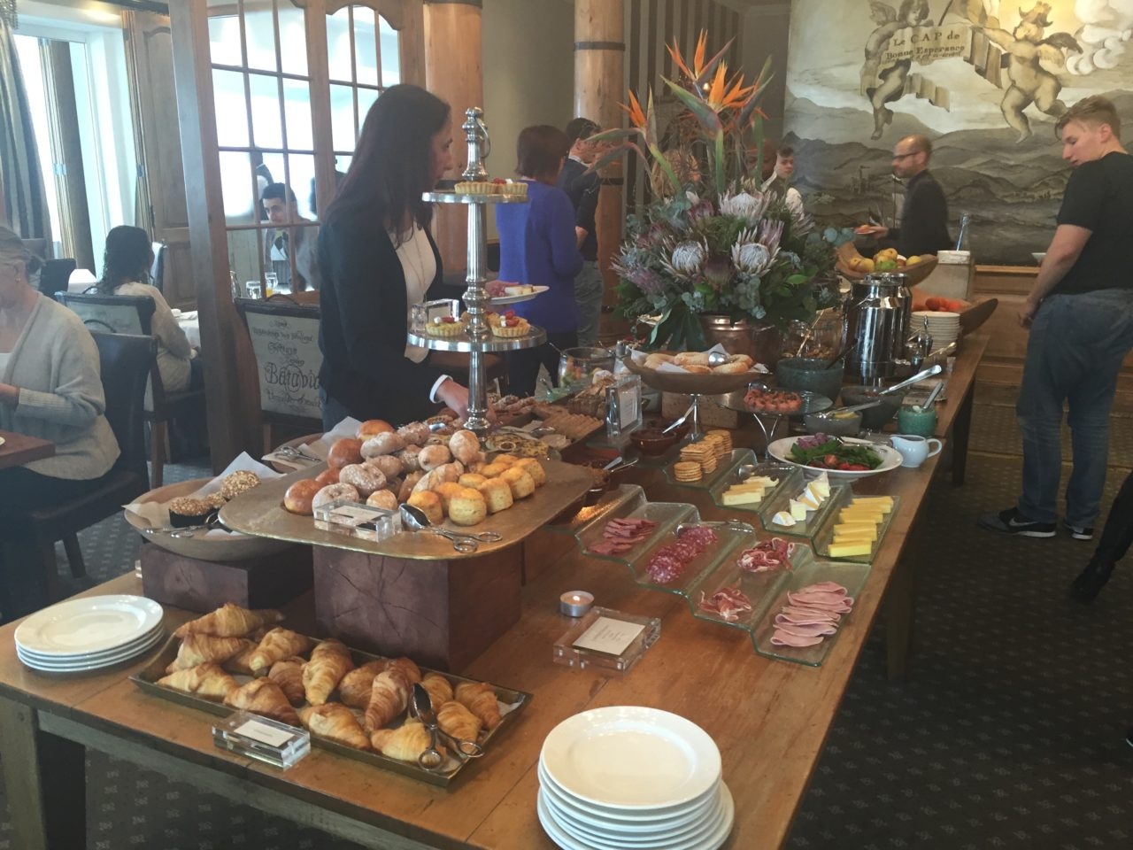 Breakfast Buffet at the Cape Grace Hotel