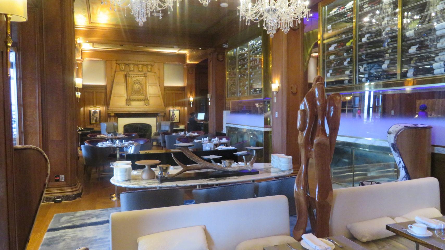 Champlain Restaurant of the Fairmont Le Chateau Frontenac