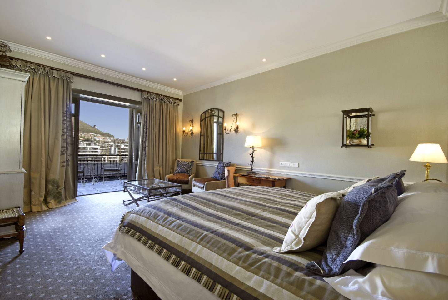Guestroom at the Cape Grace Hotel in Cape Town, South Africa