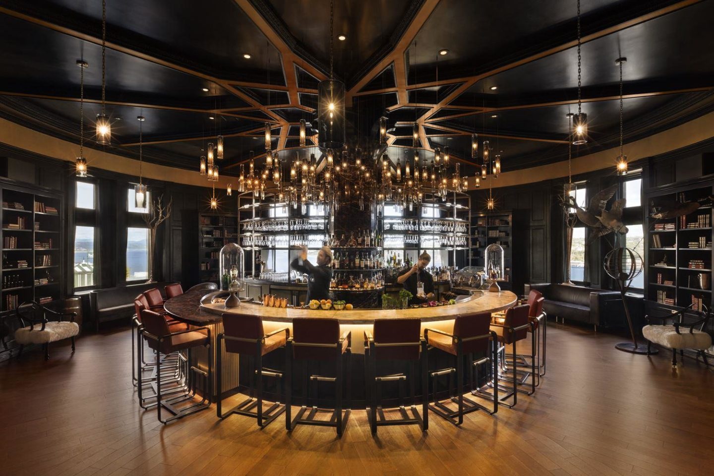 Le 1608 Wine and Cheese Bar at the Fairmont Le Chateau Frontenac