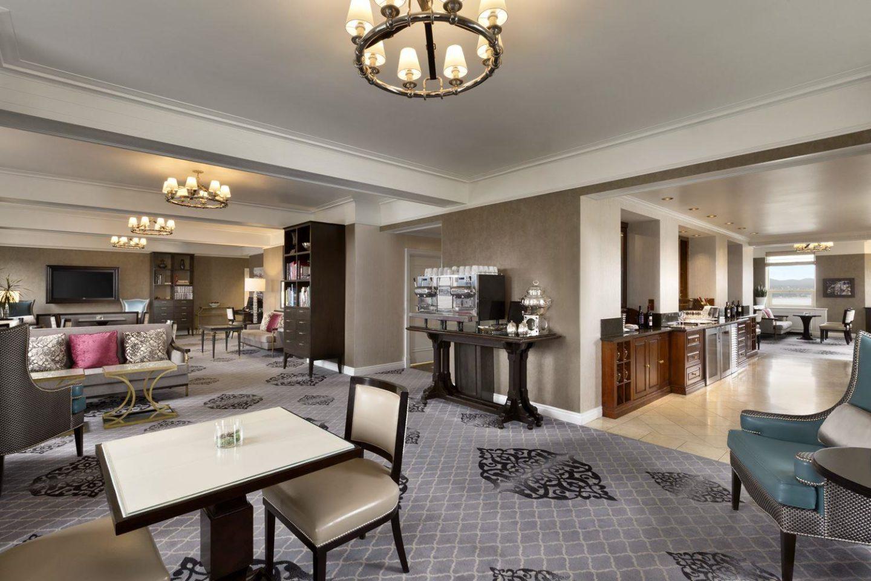 Fairmont Gold Lounge at the Fairmont Le Chateau Frontenac