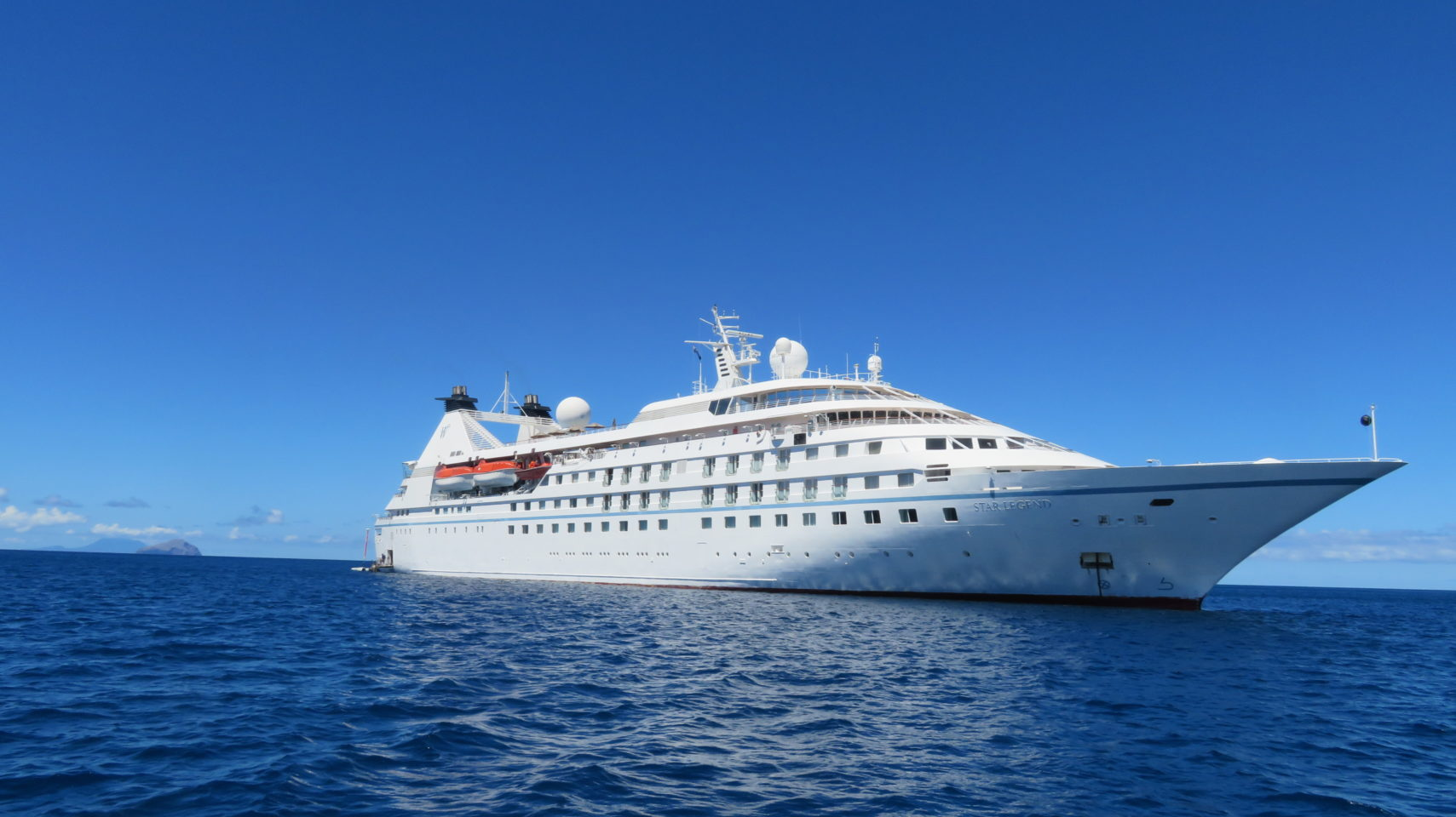 Windstar Cruises Star Legend in Montserrat