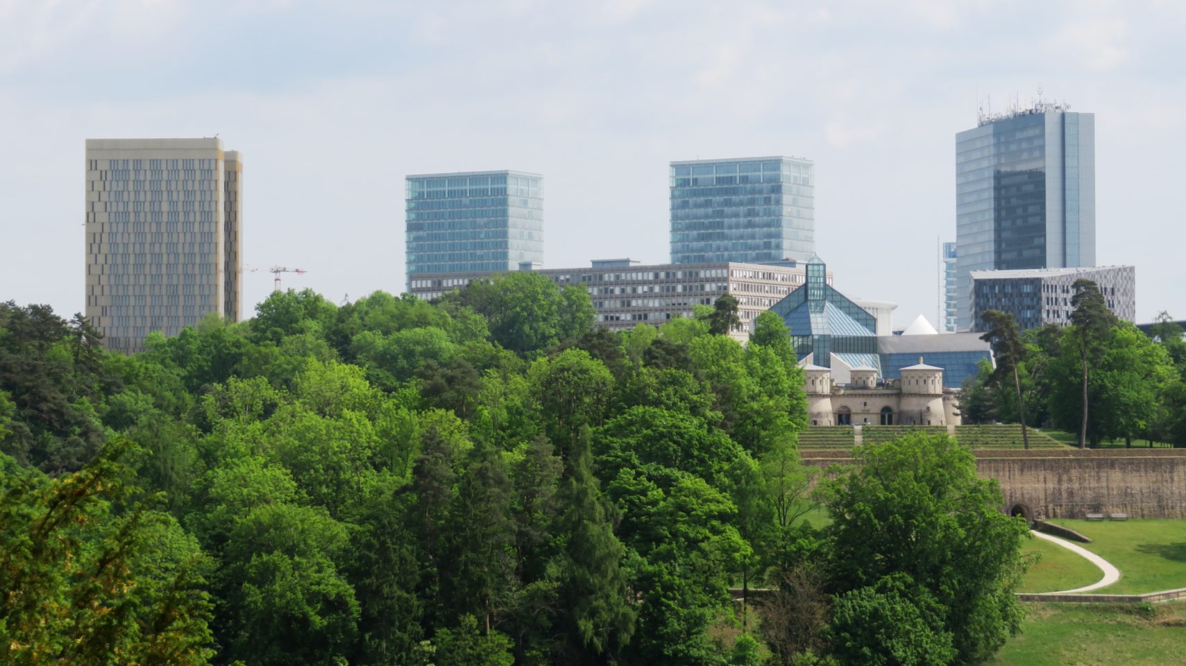 European Quarter in Luxembourg City, Luxembourg