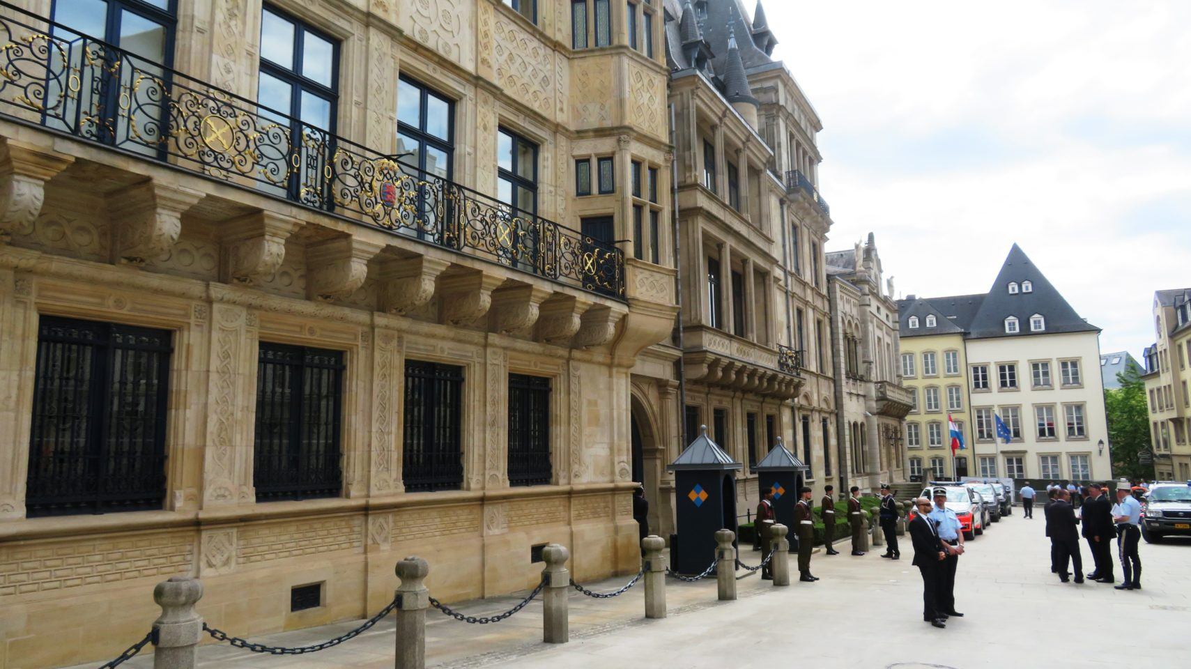 Grand Ducal Palace of Luxembourg in Luxembourg City, Luxembourg