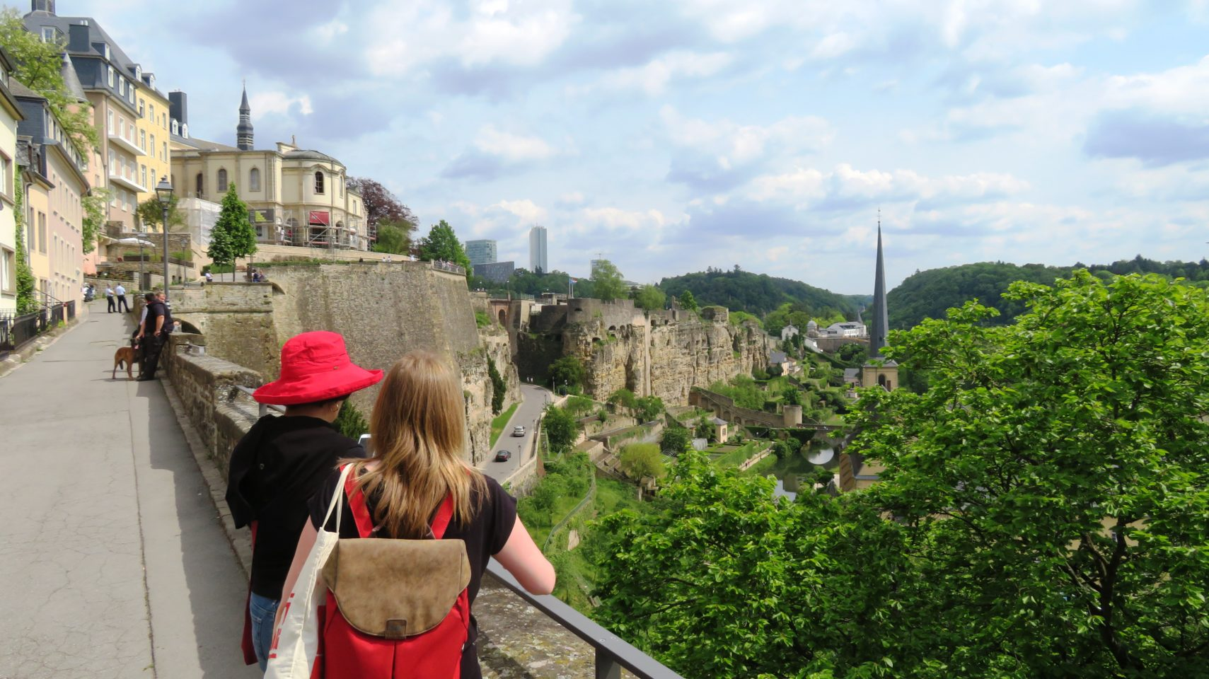 The remaining fortifications of Luxembourg City, Luxembourg