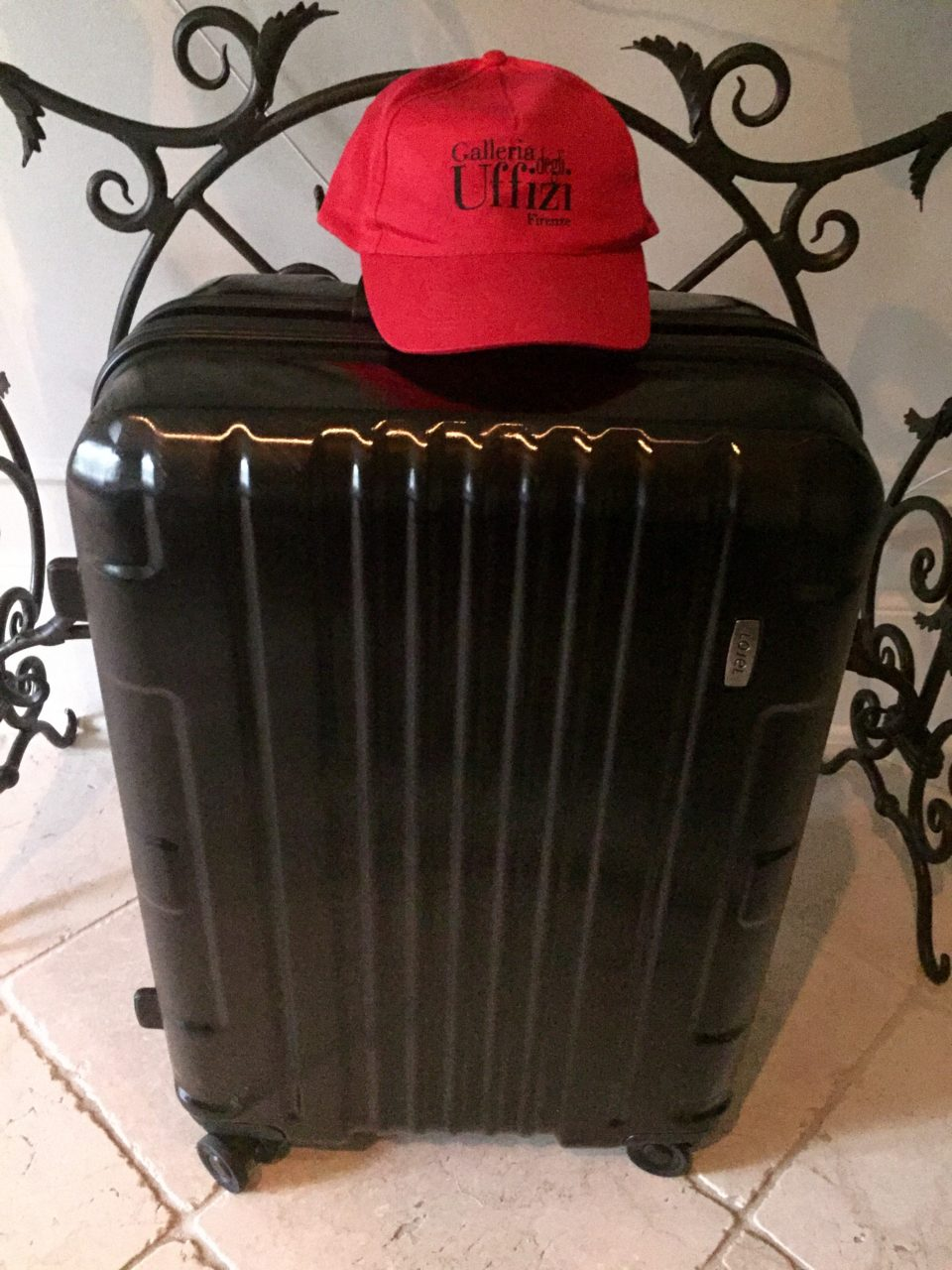 Lojel Luggage ~ The distinguished modernistic Kozmos suitcase