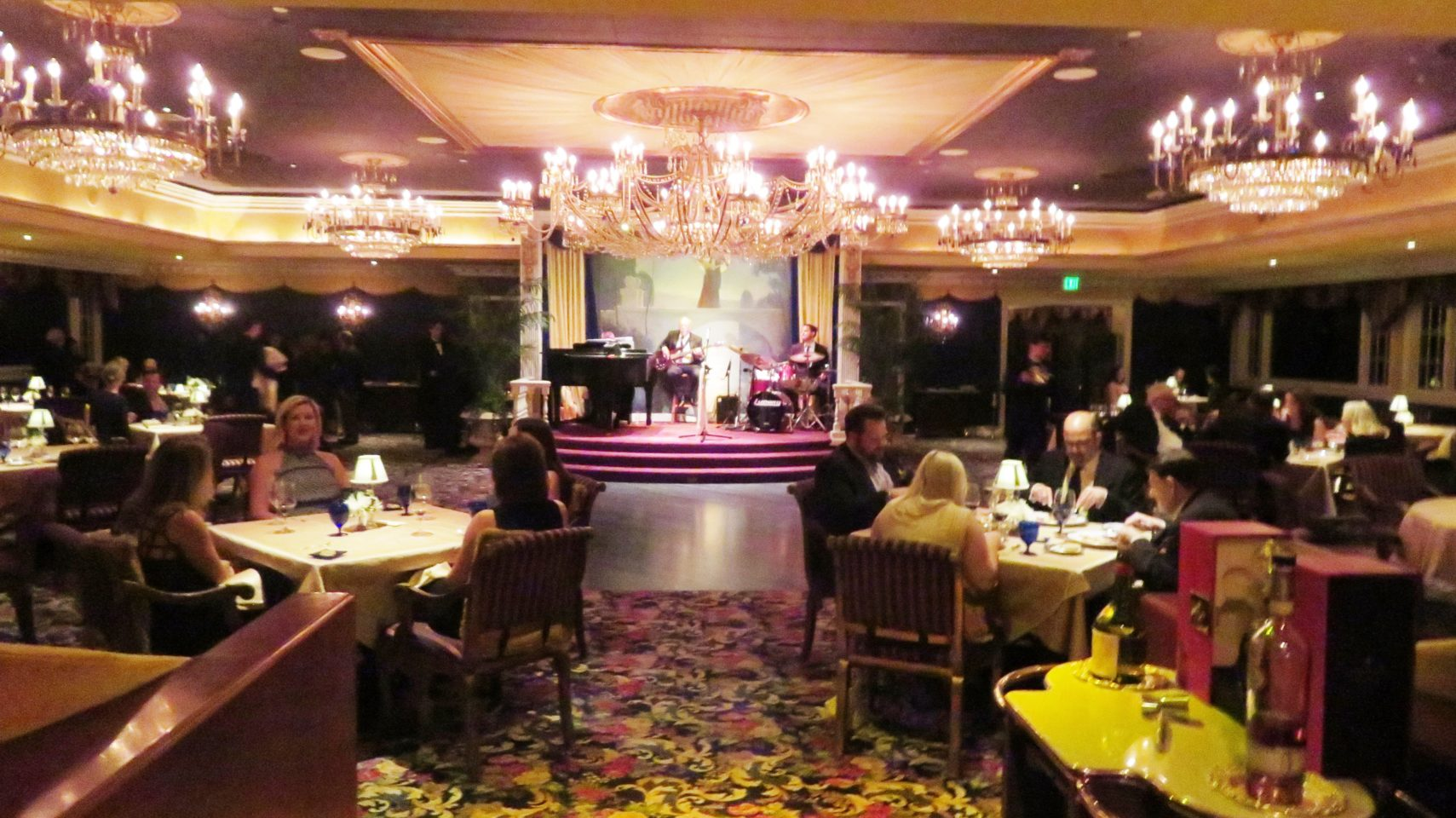 The Penrose Room restaurant at The Broadmoor Resort