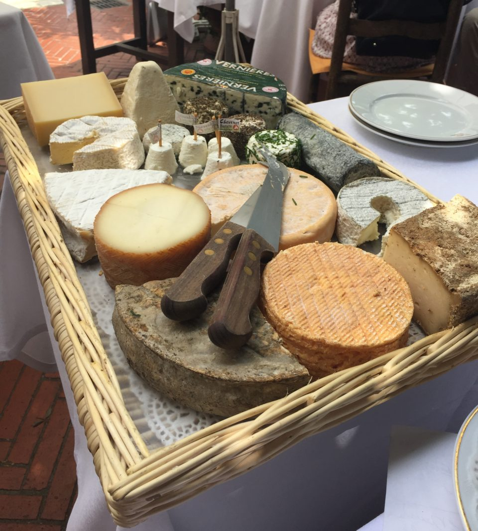 Le plateau de fromages at La Colombe d'Or ~ When in Nice, we live to eat !