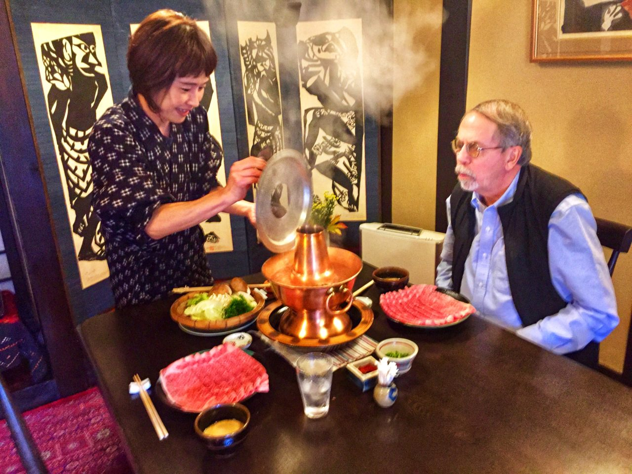 Japan Culinary Experiences ~ Shabu-shabu at Junidanya Restaurant in Kyoto