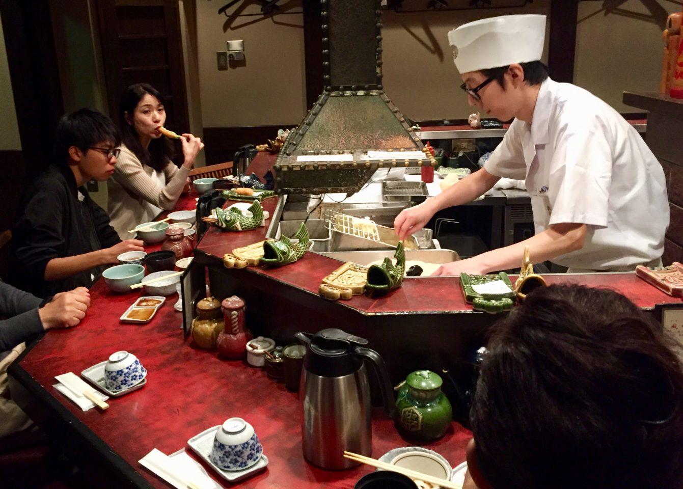 Japan Culinary Experiences ~ Kushikatsu at the Kushinobo Restaurant in Osaka