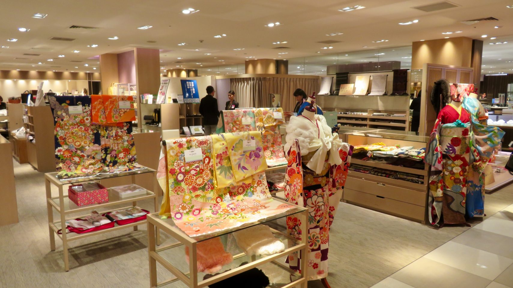 Japan Travel ~ I loved the beautifully merchandised and well-staffed department stores!