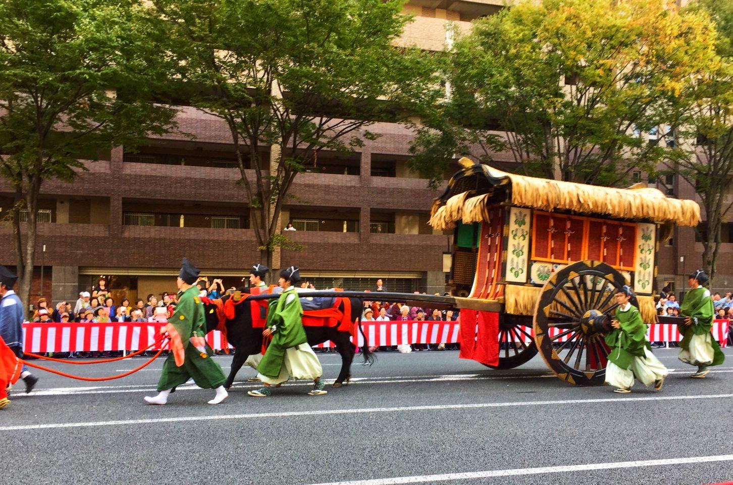 Japan Favorite Experiences ~ The Jidai Matsuri parade every year on October 22nd in Kyoto Japan