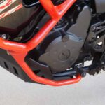 Ned Edition 2008-2014 KLR650 aluminum bash plate by JNS Engineering.