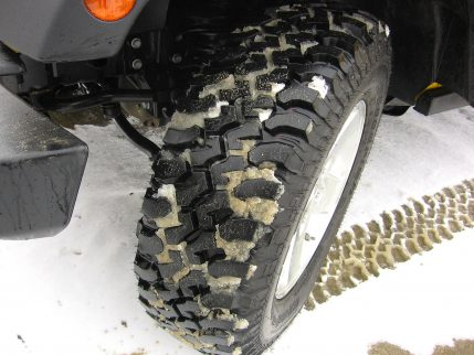 4x4 All-Wheel Drive Front Tires