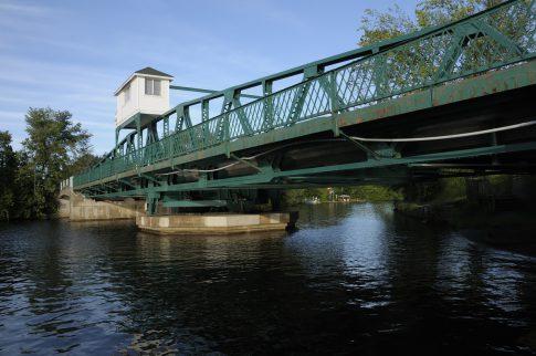 Bridge in Huntsville (Ontario,Canada)