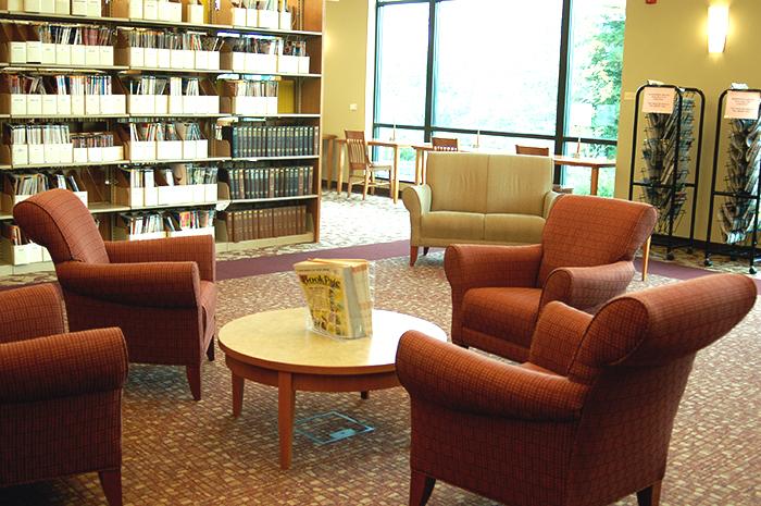 hillsboro library lounge