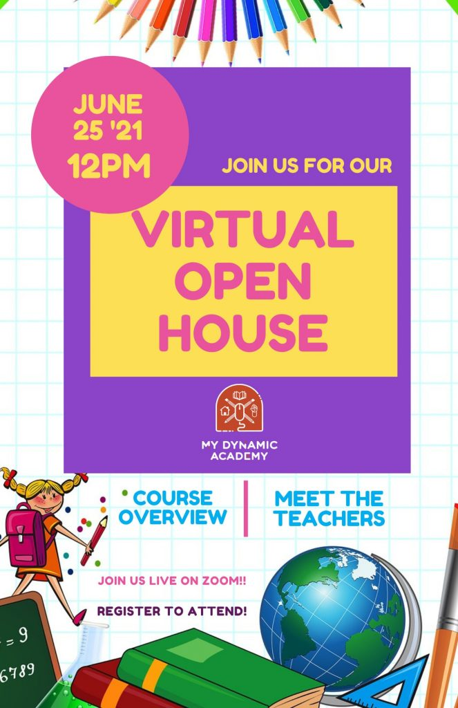 june 2021open house graphic