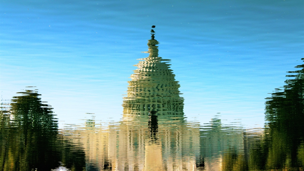 Capitol Building Reflection