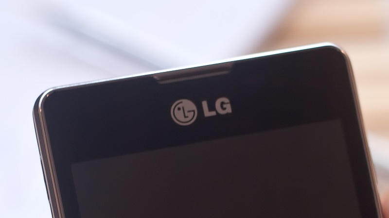 LG Logo on Phone