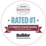 Simonton rated #1 logo