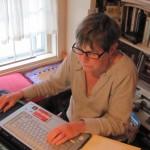 Margo working on Weekend in Paris