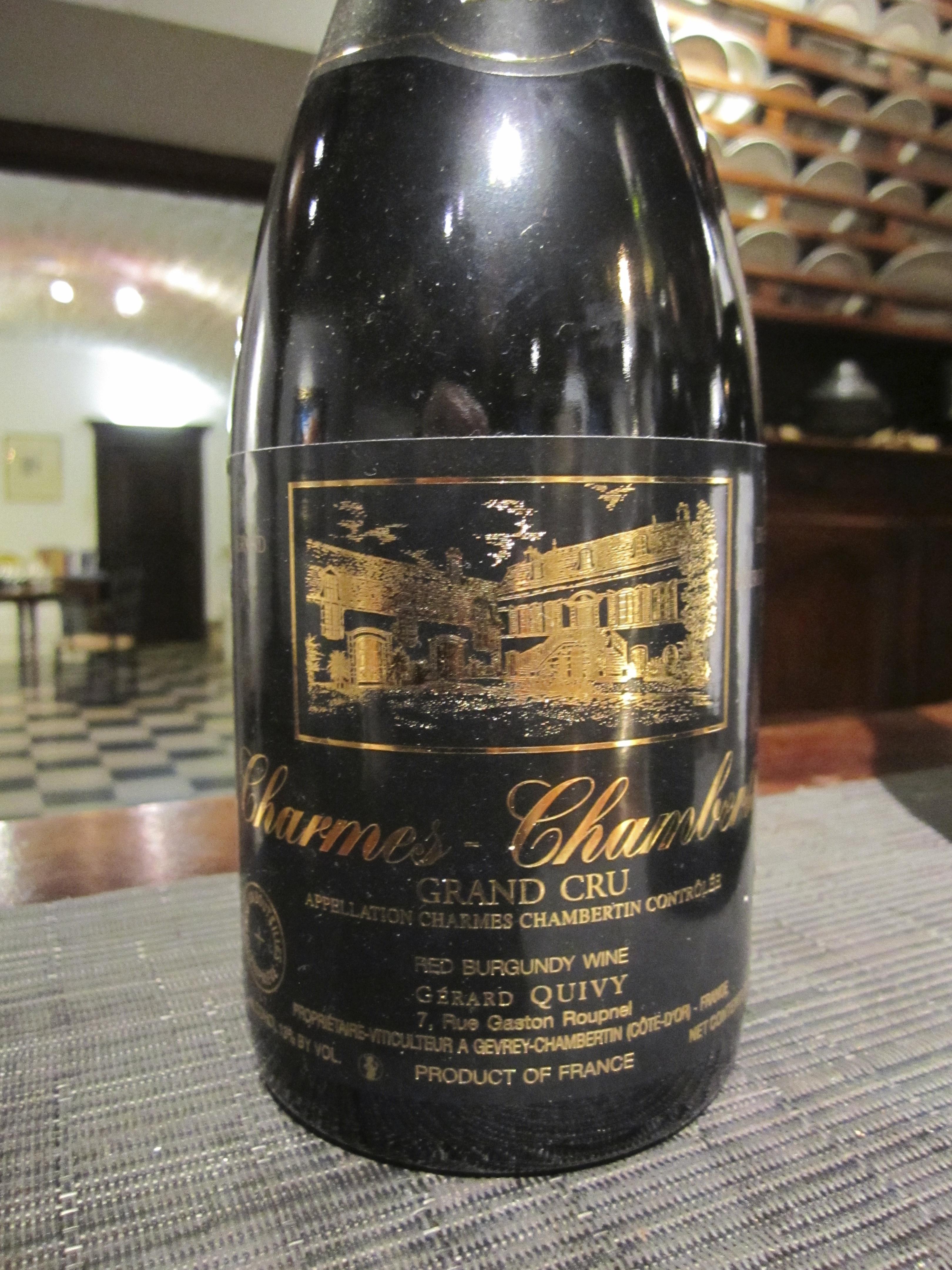 Gerard Quivy wine maker