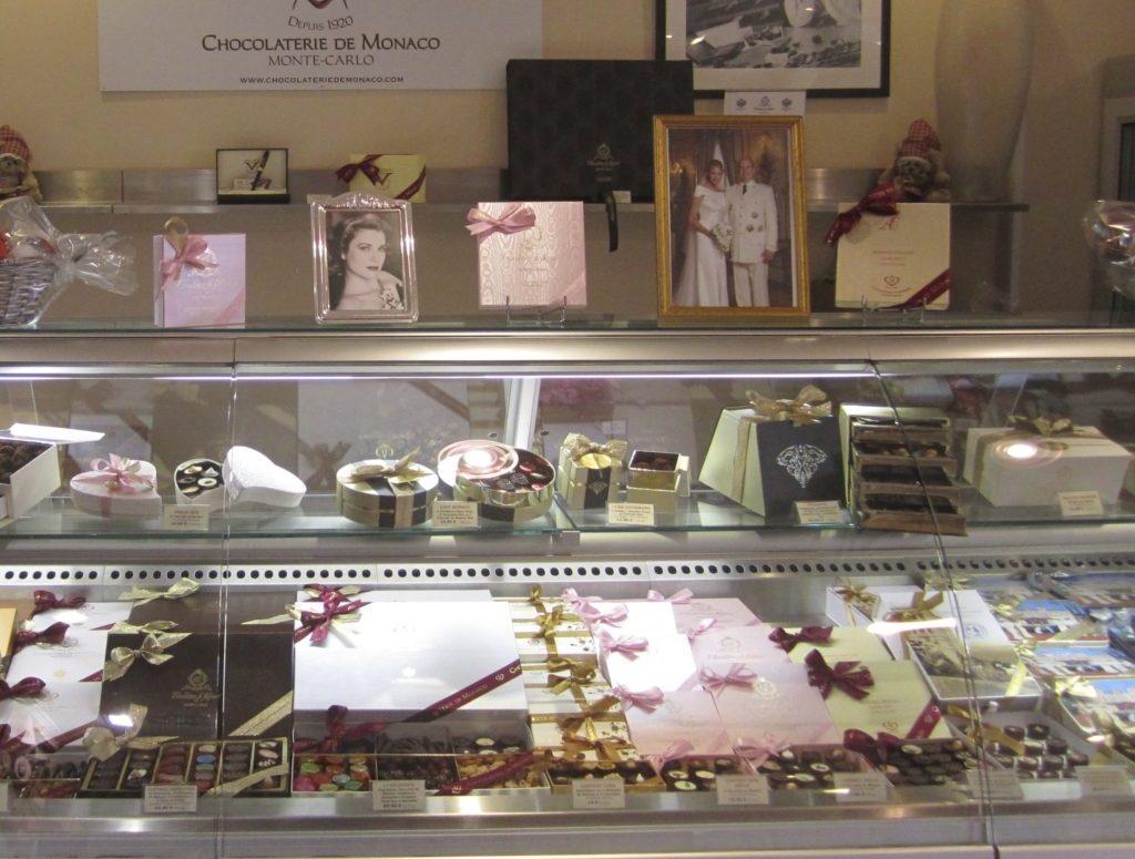 Monaco chocolate display
