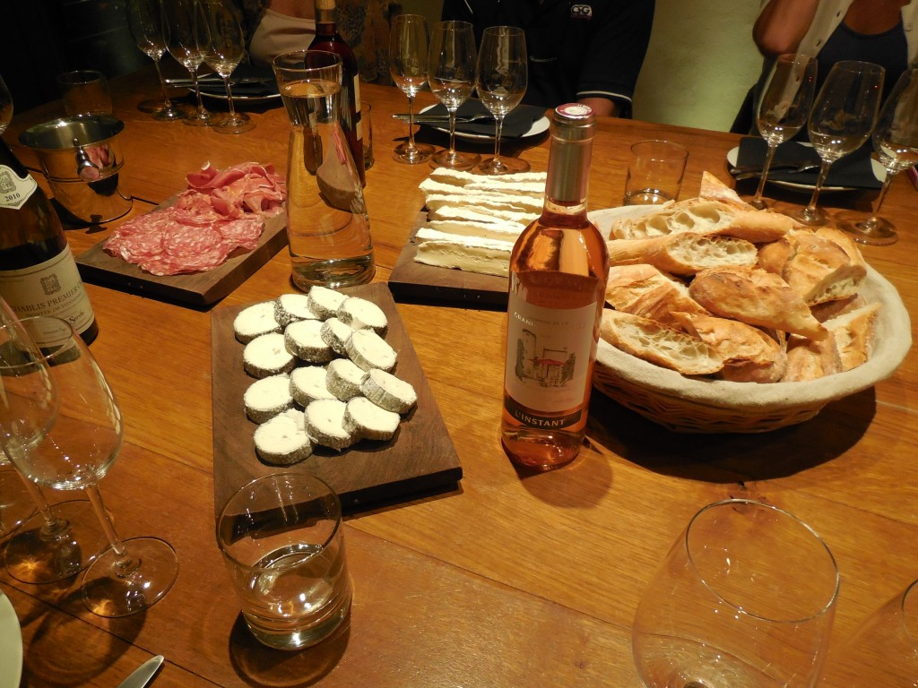 Ô Chateau's breads, cheeses and meats are of the highest quality and are bought locally