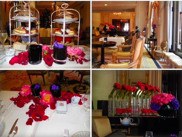 Divine tea, lovely room, elegant table, fresh flowers made our celebration perfect!
