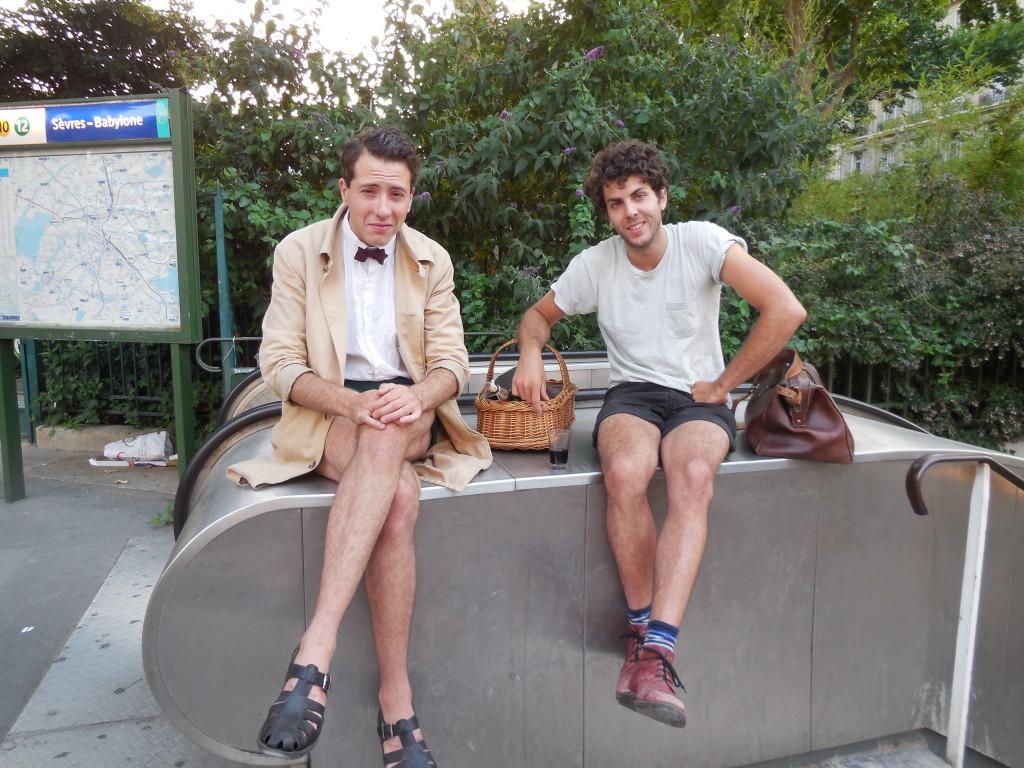 picnic paris metro