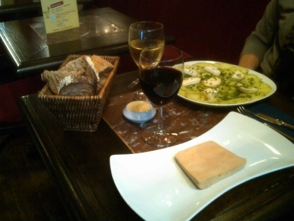 Foie Gras at L'Ecluse