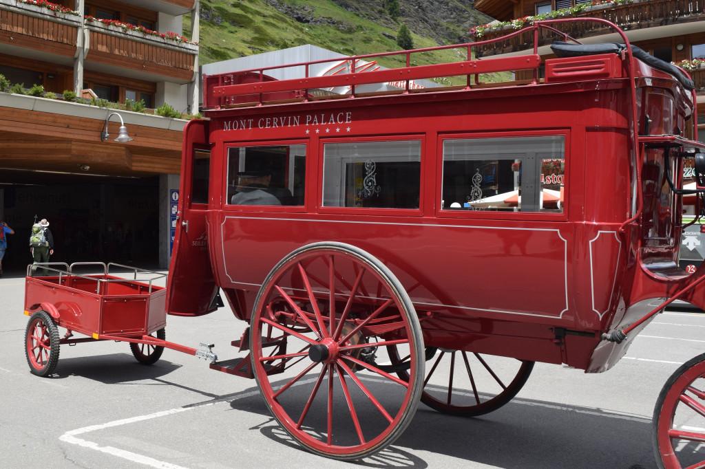 Mont Cervin Palace Hotel carriage