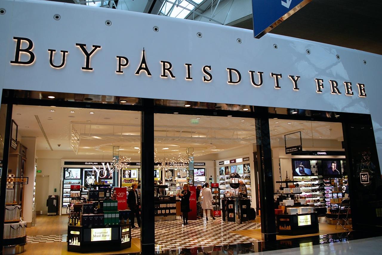 cdg shopping BuY Paris Duty Free