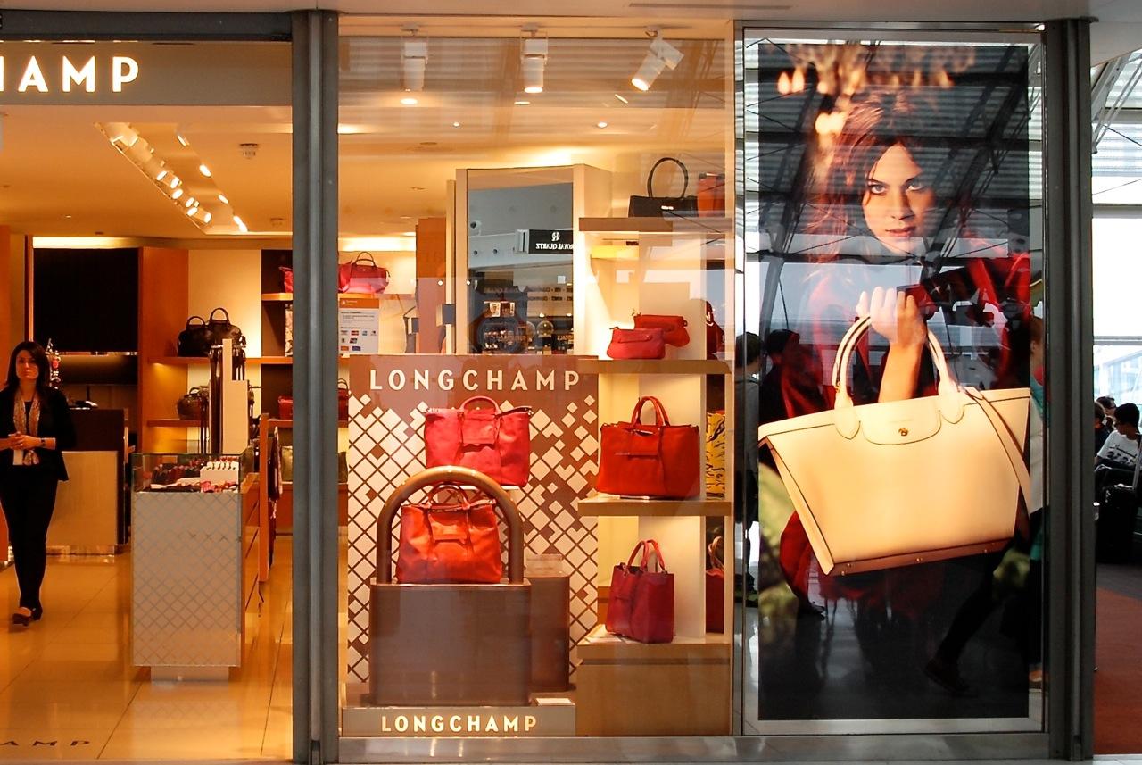 cdg shopping longchamp