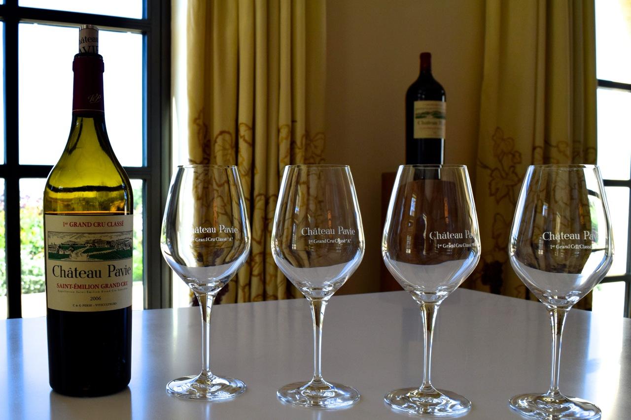 Exceptional 2006 Pavie wine