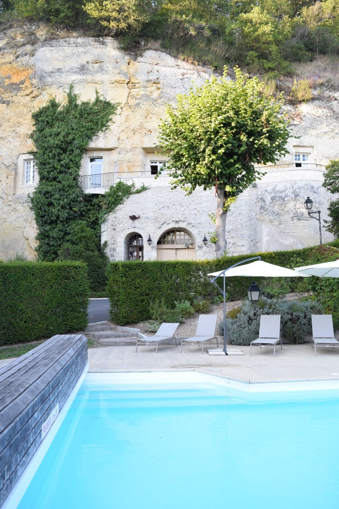 Les Hautes Roches Hotel pool