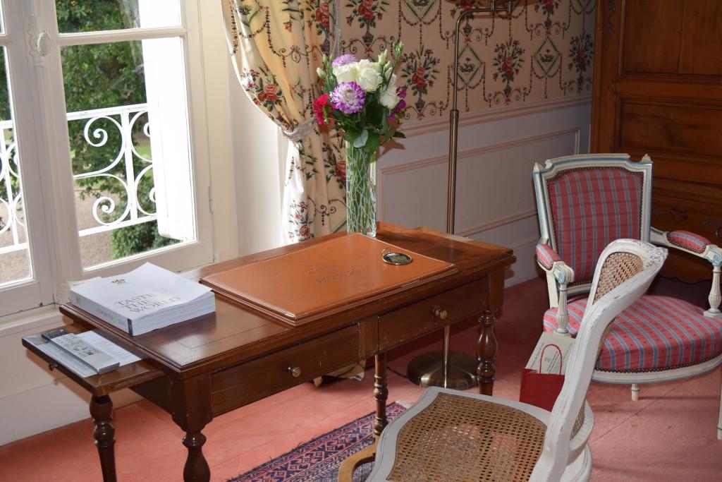Desk area of Domaine des Hautes de Loire