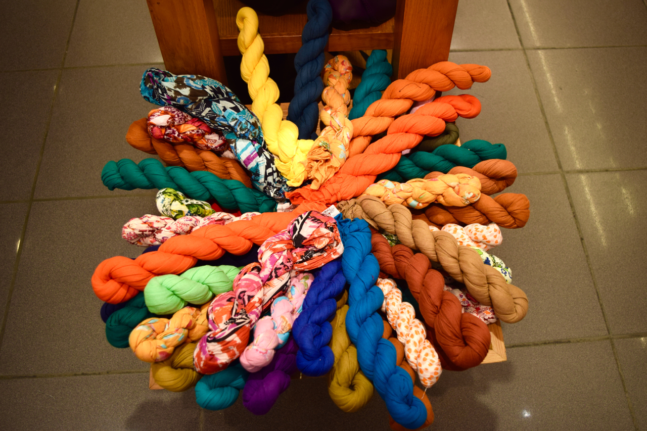 souvenir scarves at 78 ISL