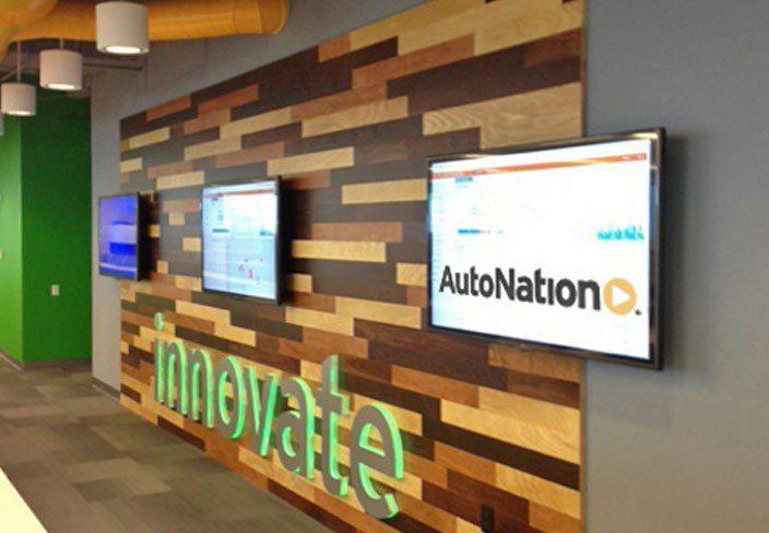 AutoNation Office Renovation & Fitness Center