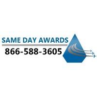 Same Day Awards, order fast awards